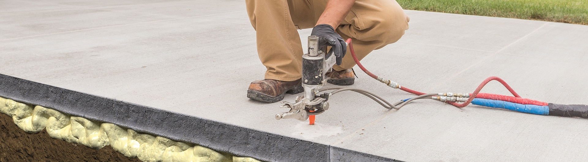 Concrete Leveling - Concrete Repair | Total Foundation Solutions