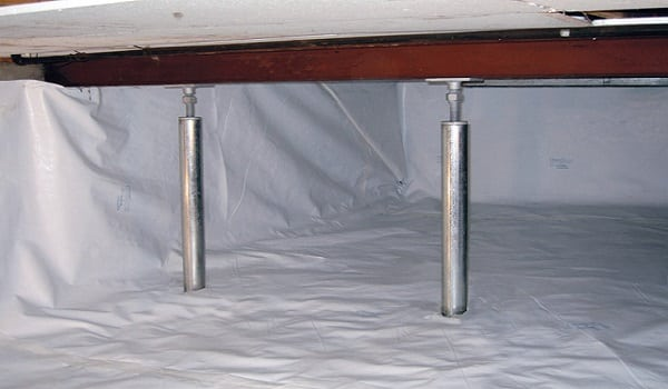 crawlspace-support-posts