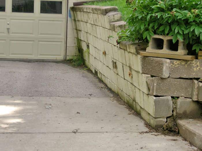 Collapsing Retaining Walls | Total Foundation Solutions